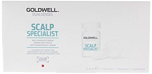 Goldwell Dualsenses Scalp Specialist Anti-Hair Loss Serum, 1er Pack (8 x 6 ml)