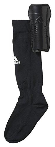 adidas Kinder Shin Guards, Black/White, M