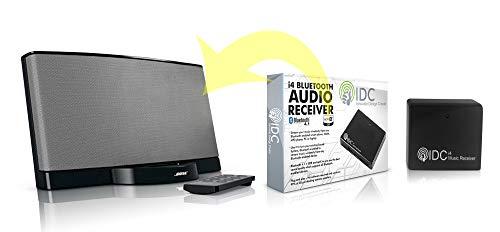 Bluetooth Music Receiver Audio-Adapter - Tragbare drahtlose Dongle für Heim-Audio-Streaming ist Ihre Dockingstation / Lautsprecher - Bluetooth 4.1 & aptX Aktiviert (30 Pin Auf 8 Pin Blitz-adapter)