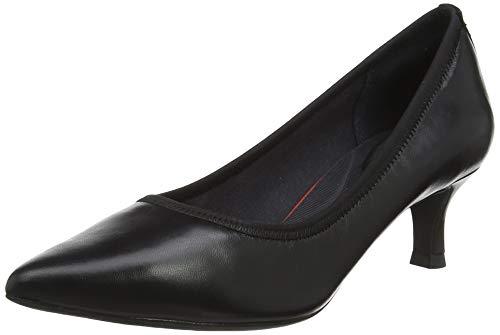 Rockport Total Motion Kaiya Pump, Zapatos de tacón con Punta Cerrada para Mujer, Negro Black Nappa...