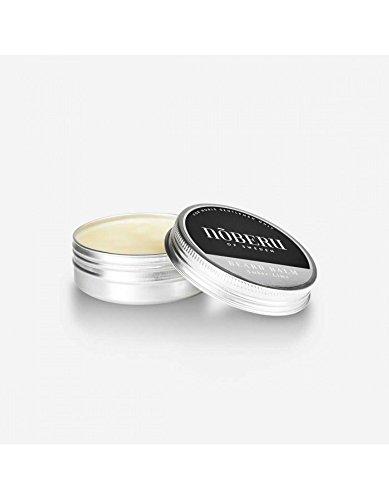 Nõberu Bartbalsam – Amber-Lime - 60 ml (Premium Beard Balm für die Bartpflege & Styling  für 3-Tage Bärte, mittellange Bärte und Vollbart geeignet   das Bart Balsam für den Gentleman   Amber-Limette)