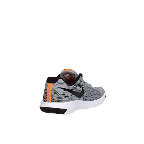 Nike Flex Experience 5 Print (Gs), Chaussures de Running Entrainement Homme Noir (Furtif / Noir Total Orange-Blanc)