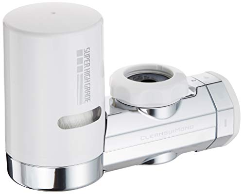 Cleansui Filtre à eau MD101-NC pour l'eau du robinet, métallique, blanc