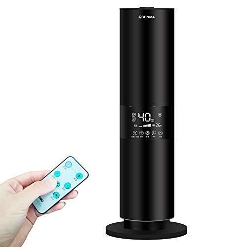 FDY 5,5 l Ultraschall Luftbefeuchter - 3-stufig einstellbar mit Nachtlicht, Konstante Luftfeuchtigkeit, Digital Touch Panel, Bluetooth-Musik, Timer und Auto-Off, für großes Zimmer, Babyzimmer,Black - Digital-timer-diffusor