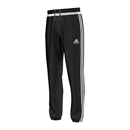 adidas -  Pantaloni impermeabili  - Uomo Nero Nero/bianco