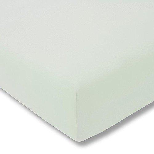 Preisvergleich Produktbild Estella Zwirn-Jersey Spannlaken 100x200cm, Farbe jade