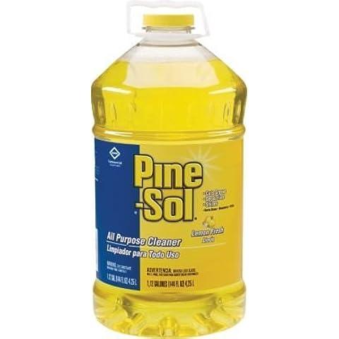 Clorox Pine-Sol Lemon Fresh All-Purpose Cleaner, 144 oz by (Pine Sol All Purpose Cleaner)