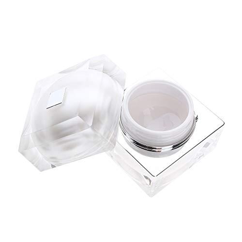 IPOTCH Boîte De Rangement Maquillage Pot De Crème Vide Récipient Cosmétique Maquillage Crème Pots Stockage avec Couverture - 30g