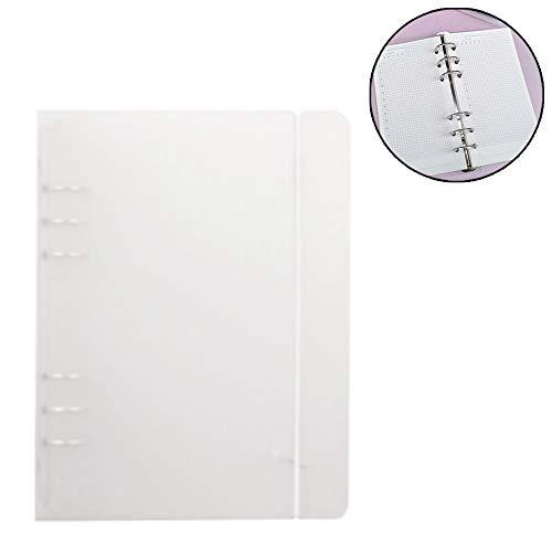 Matte Binder Lose Bügel Ungeheftetes Inner Core A7 Notebook Kugel-Journal-Planer Bürobedarf