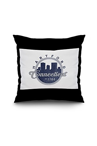 hartford-connecticut-skyline-seal-blue-18x18-spun-polyester-pillow-case-black-border