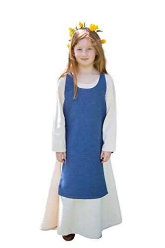 classico gamma completa di specifiche come ordinare Costume medievale da bambino, senza maniche con lato Lacings ...