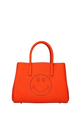 Handtaschen Anya Hindmarch Damen - Leder (EBURYSMALLSMILEYNEONORANGE) (Anya Hindmarch-leder)