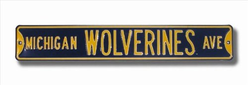 michigan-wolverines-ave-navy-street-sign
