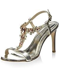 Tosca Blu Shoes Sandalias de tacón Plata EU 36