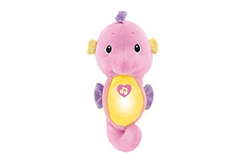 "Image of Fisher Price 900 R5534 ""Ocean Wonders"" Soothe and Glow Seahorse Toy"