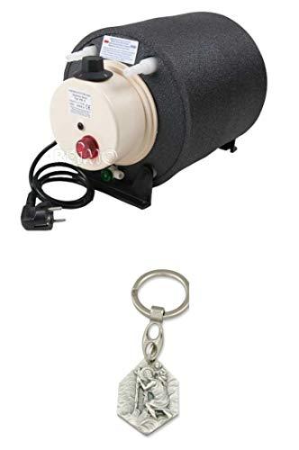 Zisa-Kombi Elgena Boiler 6L 12V/200W (93298867009) mit Anhänger Hlg. Christophorus (12v Boiler)