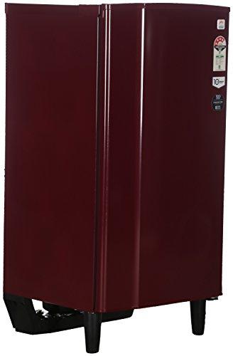 Godrej 185 L Direct Cool Single Door 2 Star Refrigerator (RD EDGE 185 CW 4.2, Wine Red)