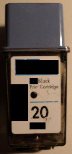 Druckerpatrone 20 Refill black für HP Drucker *C6614DE* DeskJet 610C 612C 615C 630C 632C 640C 642C 648C 656C 656cvr Fax 1020 1040 1050 925xi