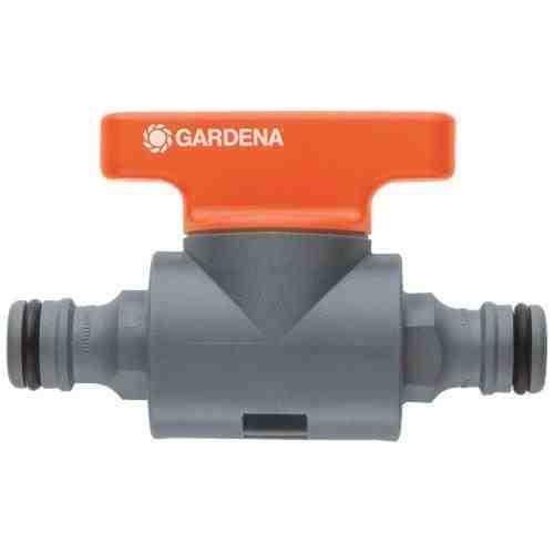Tuyau d'arrosage écoulement de l'eau du robinet extérieur Gardena ajuster l'arrosage du jardin de la vanne