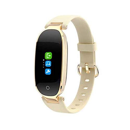 QUARK Fashion Woman Ladies S3 Smart Watch Fitness Band GPS Tracker with Heart Rate Monitor,Yellow