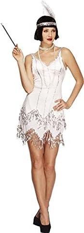 Mesdames Halloween adulte Sexy fièvre costume Flapper Dazzle pour Femme Déguisement - multicolore - 36-38