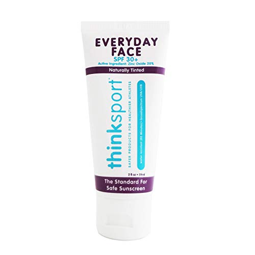 Think, Thinksport, EveryDay Face, SPF 30+, Naturally Tinted, 2 oz (59 ml) -