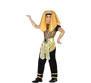 Atosa-56830 Disfraz Egipcio, Color Dorado, 5 a 6 años (56830