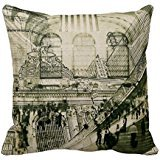 'Grand Central Station NYC Toss Pillow Case 18 18 \