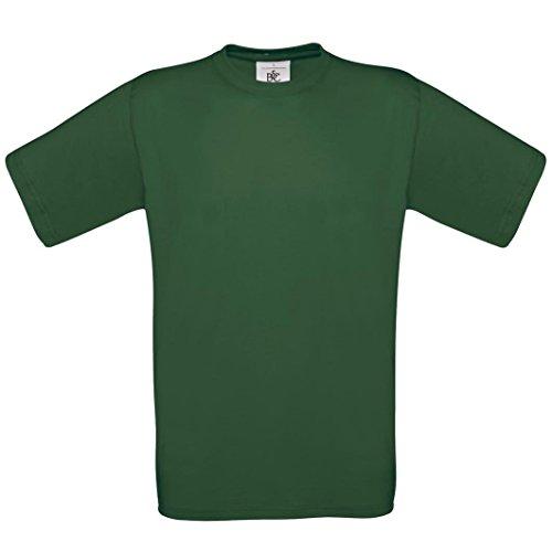 B & C Collection, Exact 190, BA190, T-Shirt Grün - Bottle Green