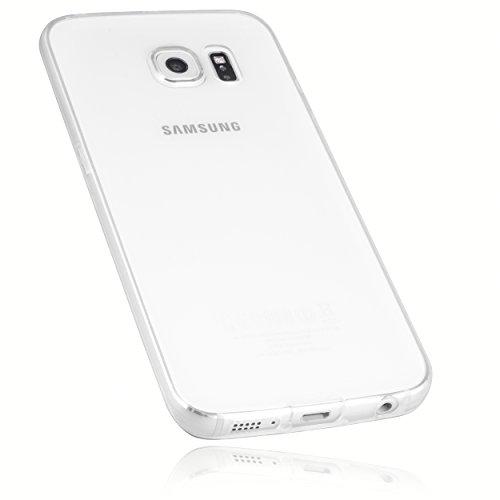 mumbi UltraSlim Hülle für Samsung Galaxy S6 Edge Hülle transparent (Ultra Slim - 0.55 mm) (Samsung Galaxy S6 Wallet Case)