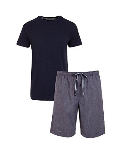 Jockey® Short Pyjama Mix, Blau, Größe 3XL