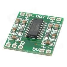 HER Mini Digital Amplifier Board 3W+3W PAM8403 Chips Audio Stereos Module Audio-chip