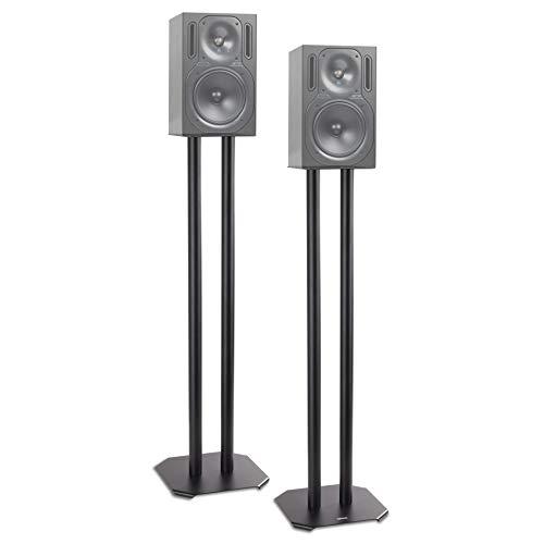 Duronic SPS1022 /80 Soportes para Altavoces 2 Piezas Hi-Fi Estéreo o Home...