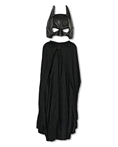 Kostüm Cape Batman Maske & Kind - Lizenzierte Batman Maske mit Cape