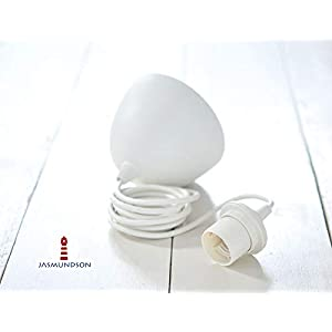 Lampenaufhängung - Weiß