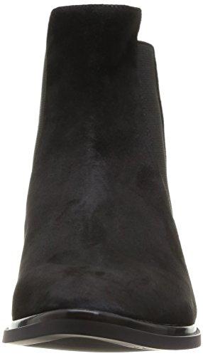 Calvin Klein - Vivi Kid Suede/Elastic, Stivali chelsea Donna Nero (blk)