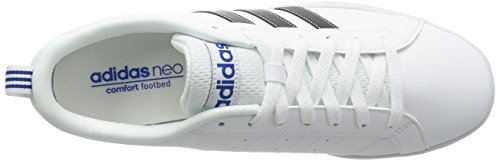 adidas Vs Advantage, Scarpe da Corsa Uomo Bianco (Ftwbla/Negbas/Azul)