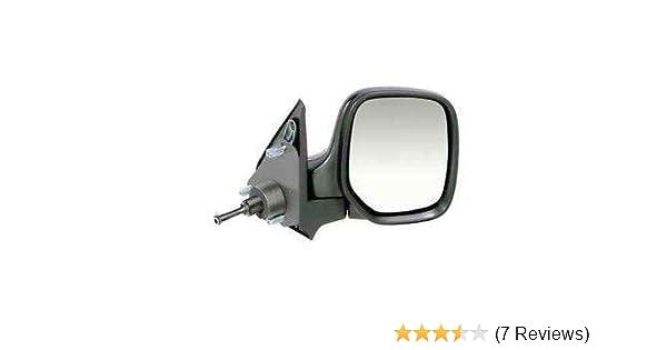For Citroen Berlingo 12-2016 Cable Black Cover Wing Door Mirror Passenger Side