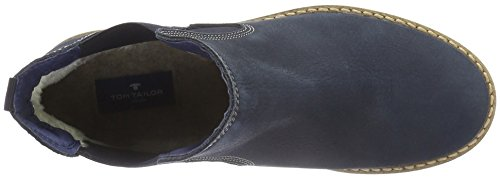 TOM TAILOR Damen 1694102 Chelsea Boots Blau (Navy)