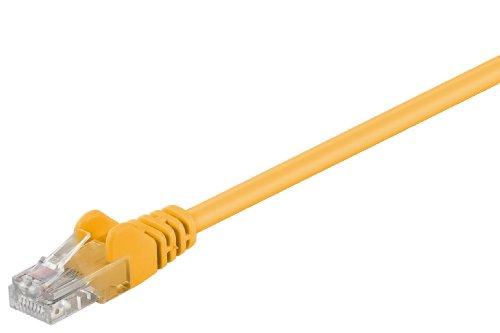 Netzwerkkabel 25m gelb, CAT5.e Standard-clipper