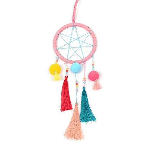 Provide The Best Bohemian Tassel Fringe Dream Catcher Wall Hanging Home Decoration Ornament Pom Ball Dream Catcher
