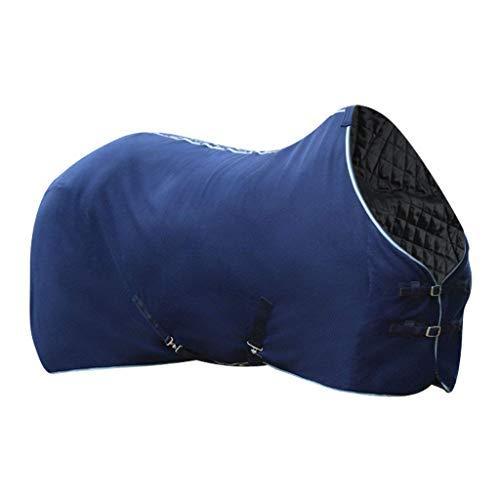 IPOTCH Pferd Reitsport Regendecke Outdoordecke Atmungsaktiv Wasserdicht Baumwolldecke - L