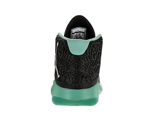 Nike Herren Jordan Ultra.Fly Basketballschuhe Black (Schwarz / Reflektieren Silber-HYPR Turq)