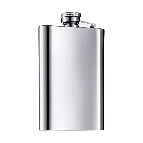 WMF Manhattan Flachmann Flasche 7 x 12 cm - Silber