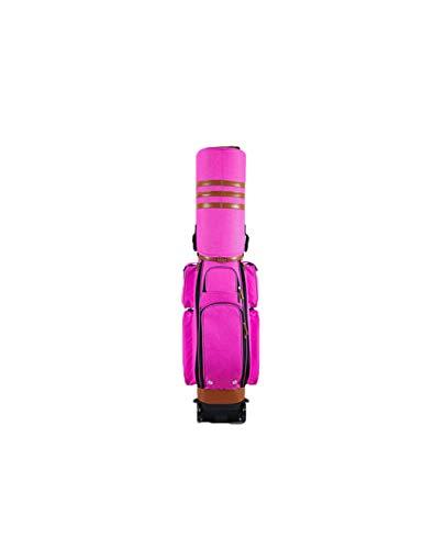 WYSTAO Retractable Golf Bag Tubes Leicht zu transportieren wasserdichte, rutschfeste Passwortsperre Spielraumausflug Damen Herren Blau Standard Golf Bag Leichte, wasserdichte, rutschfeste Tasche
