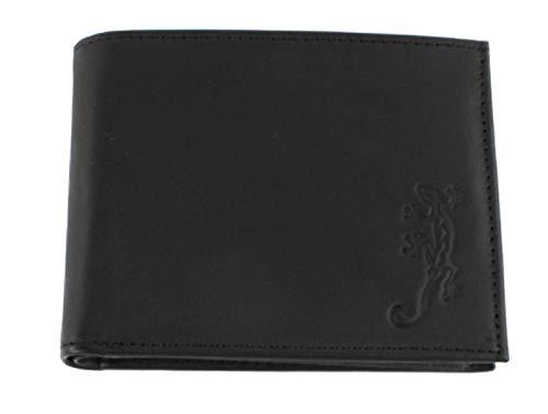 Oxmox Kollektion Leather Pocketbörse Lizard Schwarz