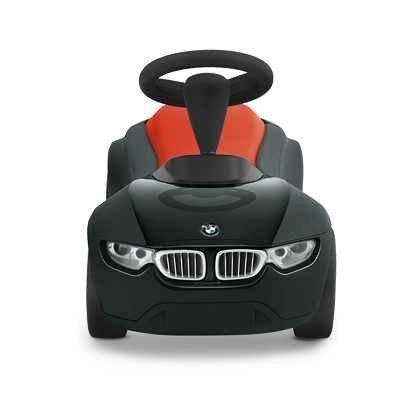 BMW–Baby Racer III, Auto di Giocattolo, Colore: Nero/Arancione, 80932361375
