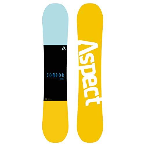 XGEEK Snowboard Set - North South Four Wide Snowboard + Cambered Snowboard für Anfänger und Fortgeschrittene-151 155 159cm