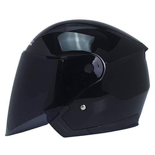 Generic Sturzhelme für Motorräder Retro Helm Motorrad Open Face Capacete Motorradhelm Motocicleta Cascos Para Moto Racing Helme -