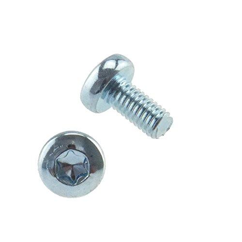Linsenschraube Innen6rund ähnlich DIN 7985 4.8 Stahl gal verz. M 5 x 12 - 200 Stück